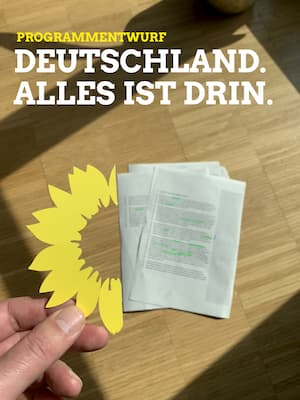 Programmentwurf zur Bundestagswahl 2021