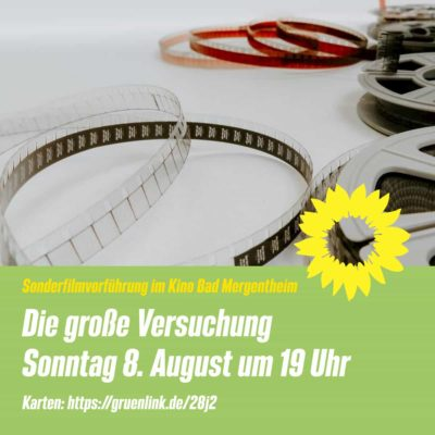 Sonderfilmvorführung im Kino Bad Mergentheim